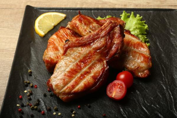 Шашлык из свинной корейки – чалагач