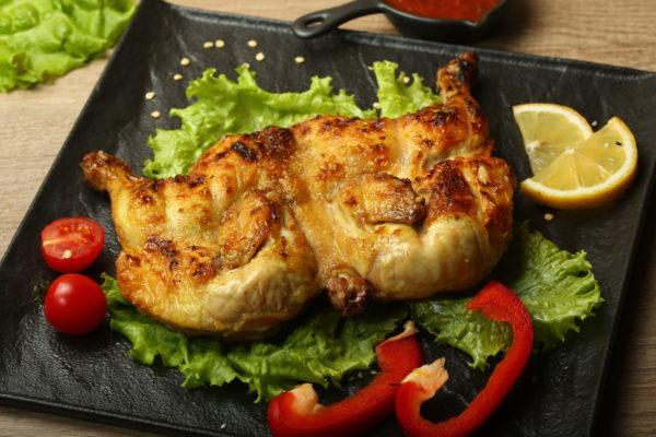 Цыпленок на мангале (целиком)